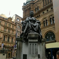 Photo taken at Queen Victoria's Statue by Sean S. on 3/8/2012