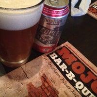Photo taken at MOJO Bar B Que, A Southern Blues Kitchen by Kristen C. on 6/23/2012