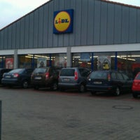 Photo taken at Lidl by Antonín S. on 2/23/2012