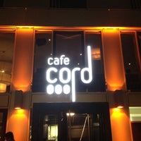Photo taken at Cafe Cord by Bastian B. on 3/30/2012