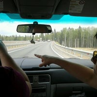 Photo taken at Трасса А-121 «Сортавала» by Александра М. on 5/21/2012