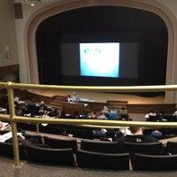Photo taken at Macbride Auditorium by Tiffany W. on 2/24/2012