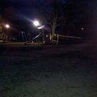Photo taken at Spielplatz Alsterwiesen by ღAnnettღ S. on 4/21/2012
