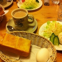 Photo taken at Komeda's Coffee by Nobue S. on 2/24/2012