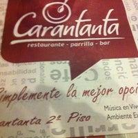 Foto diambil di Carantanta Restaurante oleh Jesus C. pada 9/6/2012