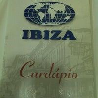 Photo taken at Ibiza by Cintia Tiemi on 5/22/2012