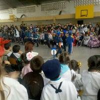 Photo taken at Escuela Leopoldo Lugones by Jorge A. on 8/17/2012
