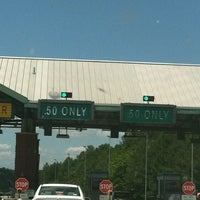 Photo taken at GA 400 Toll Free Plaza by Vanessa S. on 5/27/2012
