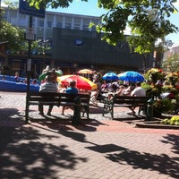 Photo taken at Mell Square by Lynn W. on 8/10/2012