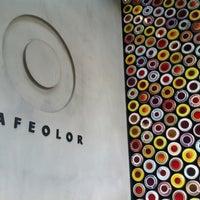 Photo taken at CAFE OLOR by Ungju L. on 6/23/2012
