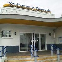 Photo taken at Southampton Central Railway Station (SOU) by taka s. on 8/24/2012