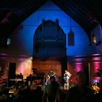 Photo taken at Old Church Stage (Snyder Memorial) - Jacksonville Jazz Festival by Manny A. on 5/26/2012