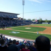 Photo taken at Richmond County Bank Ballpark by Terence P. on 8/26/2012