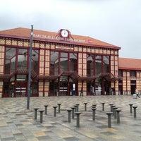 Photo taken at Gare SNCF de Saint-Étienne Châteaucreux by Germain L. on 6/12/2012