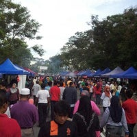 Photo taken at Bazar Ramadhan Kuaters Klia by Raymie A. on 7/22/2012