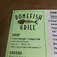 Photo taken at Bonefish Grill by Stephen M. on 6/18/2012