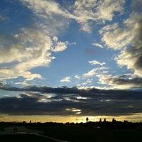 Photo taken at Tempelhofer Park by Elif Y. on 7/27/2012