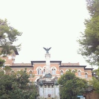 Photo taken at Palazzo Bianchi by Alessandro P. on 9/13/2012