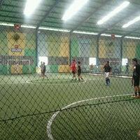 Photo taken at Lapangan Futsal BSC (Ringroad) by Tieka K. on 4/14/2012