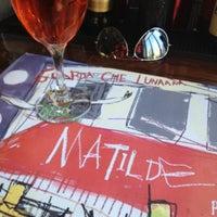 Photo taken at Matilde Pizza Bar by Evripidis A. on 3/18/2012