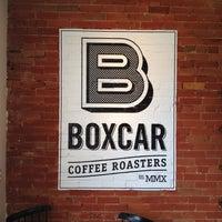 Photo taken at Boxcar Coffee Roasters by Steve H. on 4/5/2012
