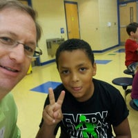 Photo taken at Brickey McCloud Elementary School by Mark E. on 8/17/2012