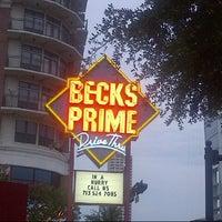 Photo taken at Becks Prime by Jane H. on 7/10/2012