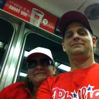 Photo taken at Philly Local Train by Mark C. on 5/20/2012