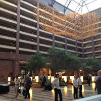 Photo taken at Hilton Anatole by The Five Star I. on 9/5/2012