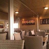 Photo taken at Domyno Burger Bar by turms on 4/4/2012