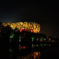 Photo taken at National Stadium (Bird's Nest) by Павел🍀 Ч. on 8/23/2012