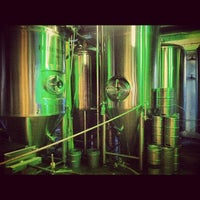 Photo taken at Green Man Brewery by Wes H. on 8/31/2012