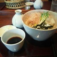 Photo taken at 手打蕎麦処 吉尾 by Hideyuki S. on 6/9/2012