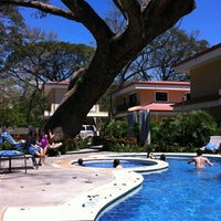 Photo taken at Club De Playa Hotel & Villas Nacazcol Playa Panamá by Adrian L. on 2/12/2012
