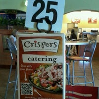 Photo taken at Crispers Fresh Salads, Soups and Sandwiches by Nicole R. on 11/4/2011