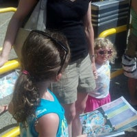 Photo taken at Sesame Place by helen d. on 8/29/2012