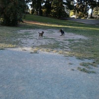 Photo taken at French Lake Off-Leash Dog Park by Erin Marie F. on 7/25/2012