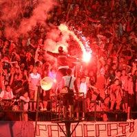 Photo taken at Stadion Manahan by PASOEPATI on 11/2/2011