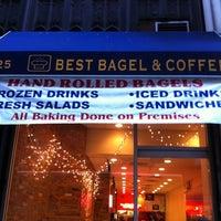 Photo taken at Best Bagel & Coffee by Steve L. on 1/4/2011