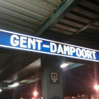 Photo taken at Station Gent-Dampoort by Sebbe D. on 11/25/2011