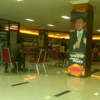 Photo taken at Food Court STIE Nobel 1st floor by Abrian A. on 11/22/2011