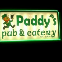 Photo taken at Paddy's Pub & Eatery by Jason R. on 12/31/2011