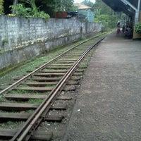 Photo taken at Maharagama Railway Station by Malshan G. on 12/21/2011