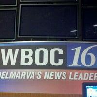 Photo taken at WBOC-TV by Corey D. on 10/6/2011