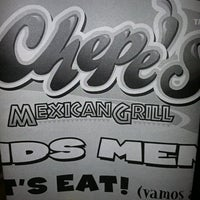 Photo taken at Chepe's Mexican Grill by Payton W. on 10/1/2011