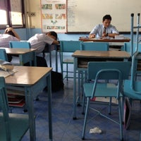 Photo taken at room m.6/4 @udomsuksa school by pari t. on 1/20/2012