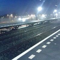 Photo taken at Station Nijmegen Lent by Peter v. on 3/28/2012