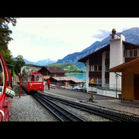 Photo taken at Brienz–Rothorn Bahn by Khalid A. on 7/9/2012