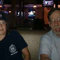 Photo taken at Joe Santucci's Square Pizza Bar and Grill by Desiree C. on 9/17/2011