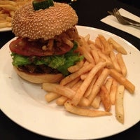 Photo taken at New York Style Steak & Burger by Rosa C. on 5/1/2012